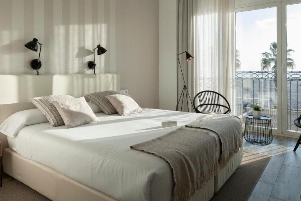 double room at balandret boutique hotel in valencia