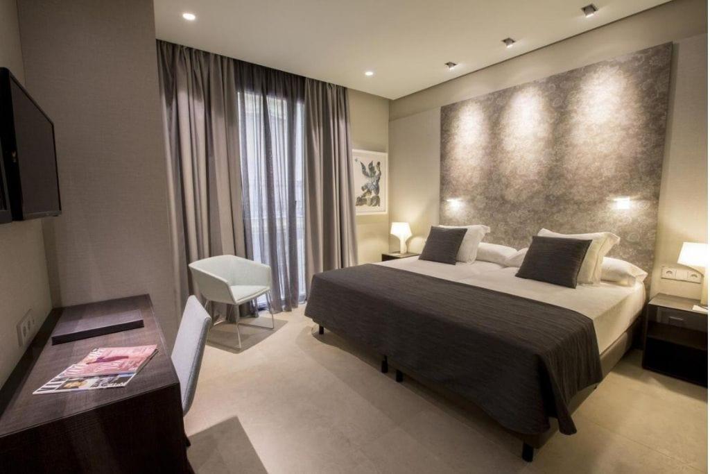 double room at vincci mercat hotel in valencia