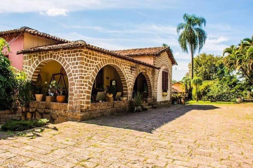 rural terrace from pousada fazenda santana