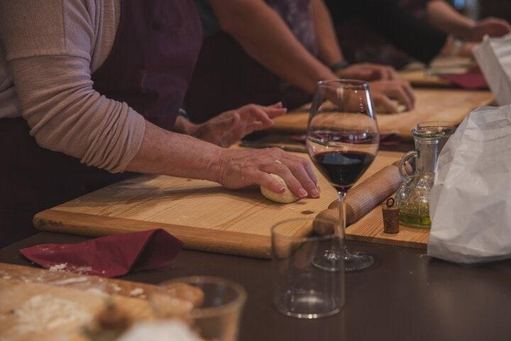 Montepulciano: Aula de culinária e Degustação de vinhos